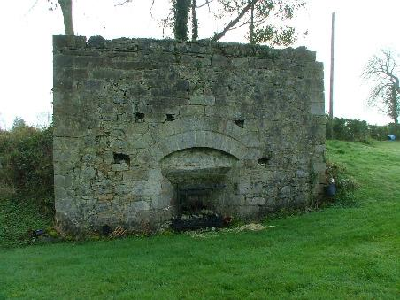 Lime Kiln, Recorded in Survey of Industrial Heritage of Co. Cavan, 2007